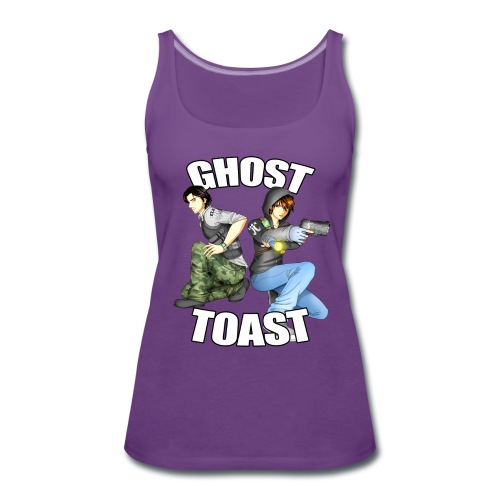 Ghost & Toast - Women's Premium Tank Top