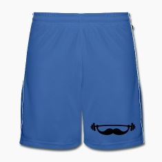 Funny Fitness Mustache / Beard Trousers & Shorts