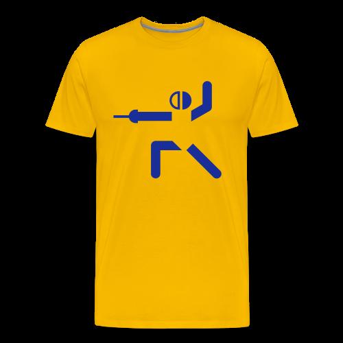 TVU Fechten - Männer Premium T-Shirt