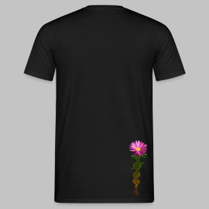 T-shirt homme (man) DNA Flower - Men's T-Shirt
