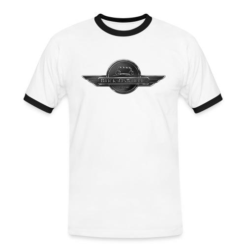 Bricks on wheels - Mannen contrastshirt