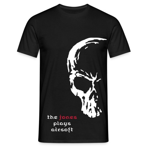 The Jones Project Airsoft skull  - Men's T-Shirt