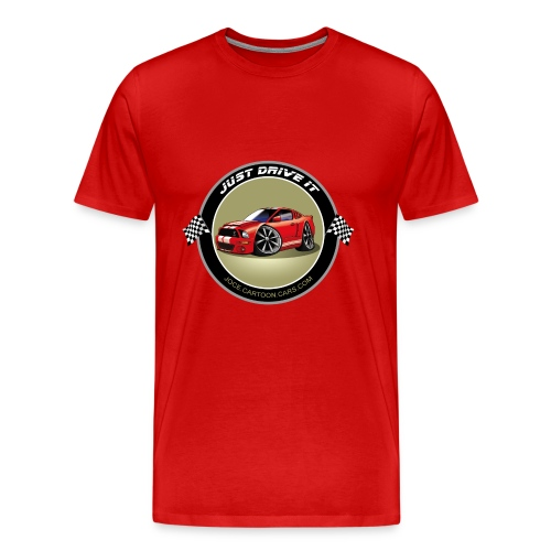 Just drive it Shelby - T-shirt Premium Homme