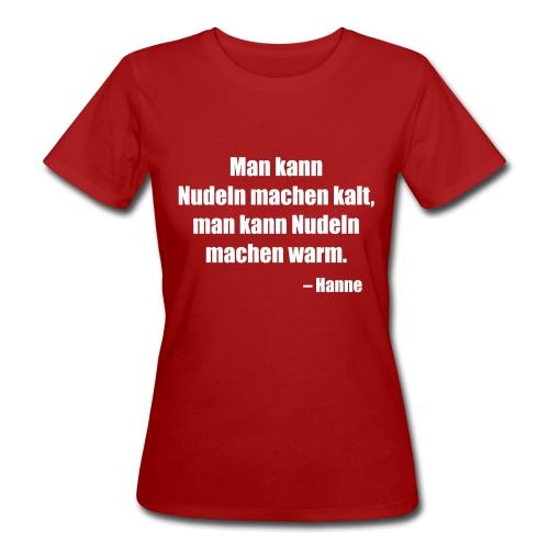 Abenra, Hanne - Frauen Bio-T-Shirt