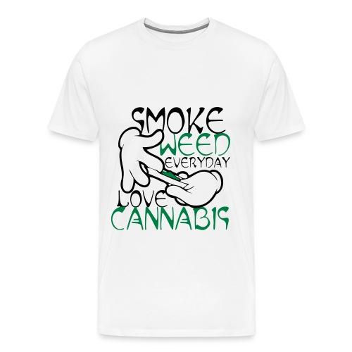 Tee shirt gants de Mickey: cannabis - T-shirt Premium Homme