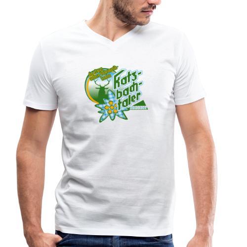 Katzbachtaler Shirt mit V-Ausschnitt - Männer Bio-T-Shirt mit V-Ausschnitt von Stanley & Stella