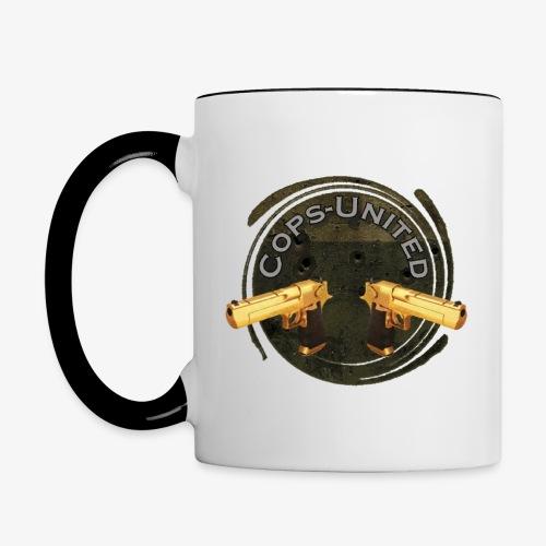 Cops-Cup - Tasse zweifarbig