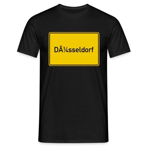 Düsseldorf UTF-8 Fail  - Männer T-Shirt