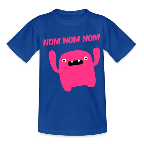 nom nom nom  - Kids' T-Shirt