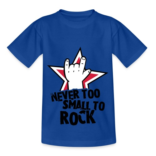 never too small to rock  - Kids' T-Shirt
