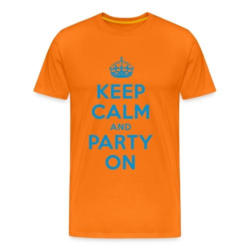 Party ON ShIrT - Männer Premium T-Shirt