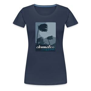 CHROMELESSAPPAREL // WINDWARD  - Frauen Premium T-Shirt