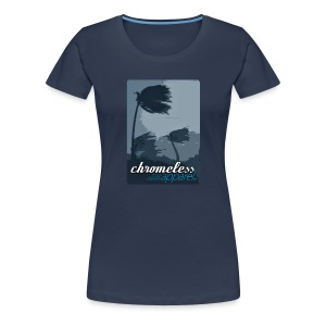 CHROMELESSAPPAREL // WINDWARD  - Frauen Premium T-Shirt