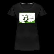 T-Shirts ~ Frauen Premium T-Shirt ~ CHROMELESS // DIRTTRACK