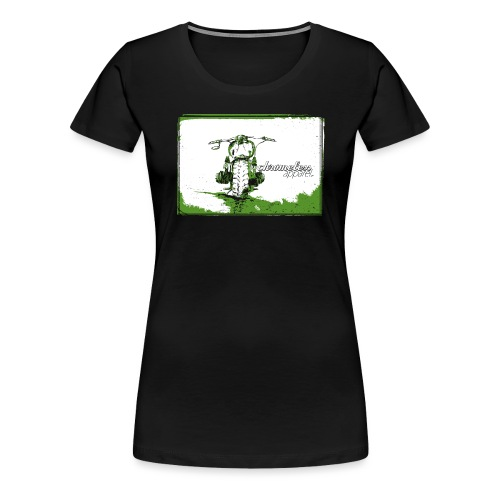 CHROMELESS // DIRTTRACK - Frauen Premium T-Shirt