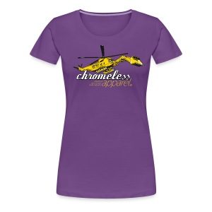 CHROMELESS // BAGGERKOPTER - Frauen Premium T-Shirt