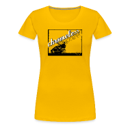 T-Shirts ~ Frauen Premium T-Shirt ~ CHROMELESS // MOORMASCHINE
