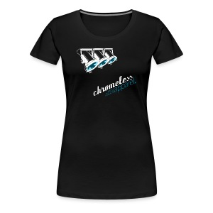 CHROMELESS // SPOTLIGHT  - Frauen Premium T-Shirt