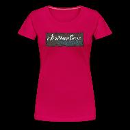 T-Shirts ~ Frauen Premium T-Shirt ~ CHROMELESS // CUT