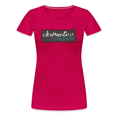 CHROMELESSAPPAREL // CUT  - Frauen Premium T-Shirt