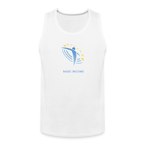 UBIE man tanktop white - Men's Premium Tank Top