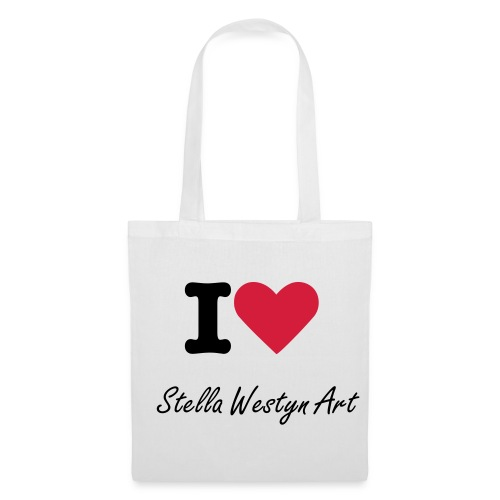 i love stella westyn art - Tote Bag
