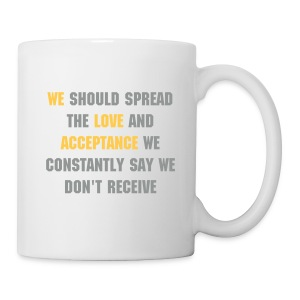 spread love mug - Mug