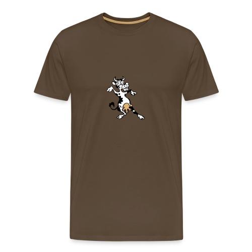 Vache folle - T-shirt Premium Homme