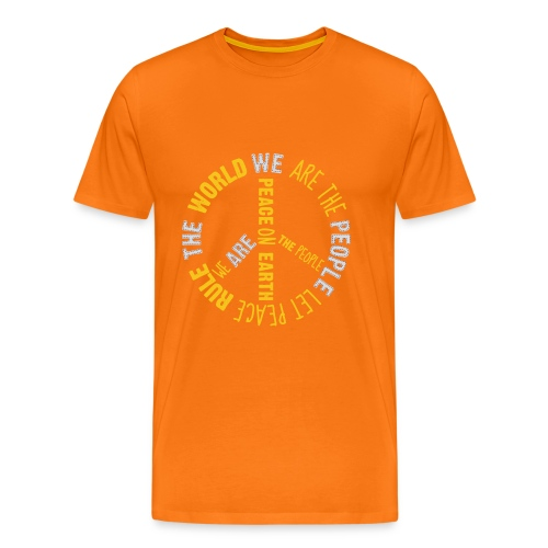 People's Earth - Men T-Shirt Unisex - Männer Premium T-Shirt
