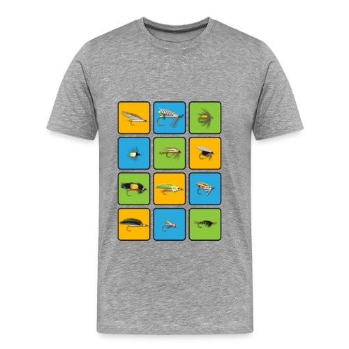 Fischen / Köder - Männer Premium T-Shirt