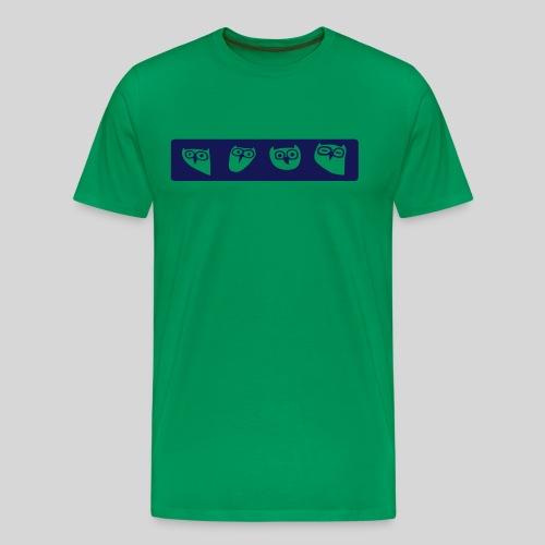 Eulen - Männer Premium T-Shirt