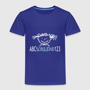 ABC Schulkind 123 - Kinder Premium T-Shirt