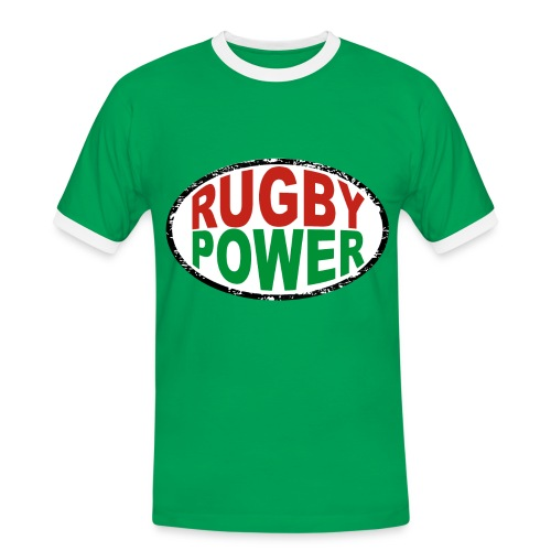 Basque rugby power - T-shirt contrasté Homme
