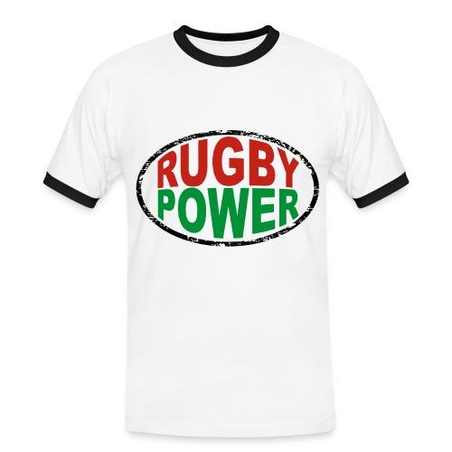 Basque rugby power - T-shirt contrasté Homme