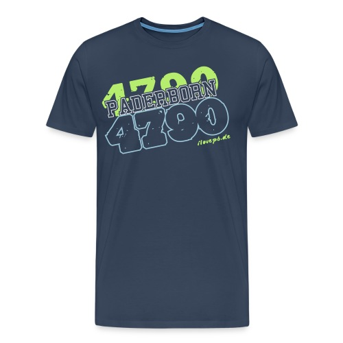 4790 Paderborn Herren - Männer Premium T-Shirt