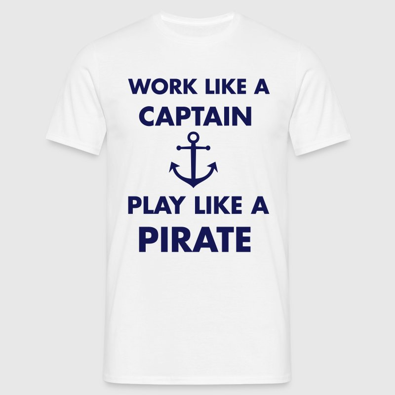 Pirate T-shirts - Herre-T-shirt