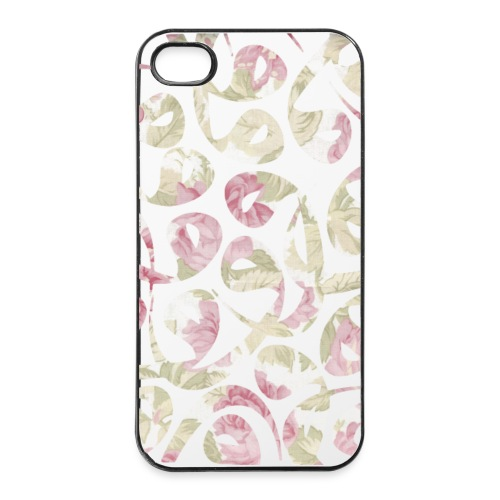 Floral Vav Case iPhone 4/4S - iPhone 4/4s Hard Case