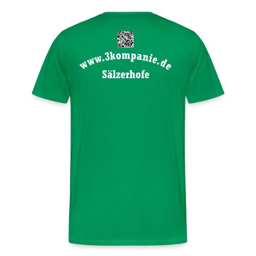 Shirt mit QR - Männer Premium T-Shirt
