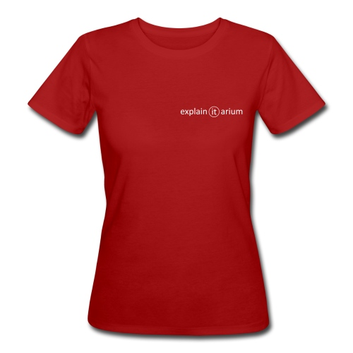 Master It, too! - weiss - Frauen Bio-T-Shirt