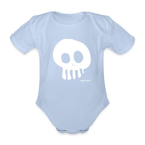 Skull - Baby Body - Baby Bio-Kurzarm-Body