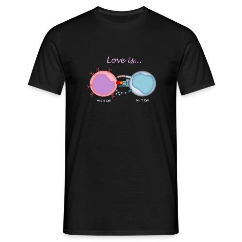 Love is... - Men's T-Shirt