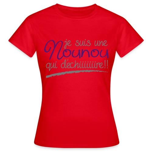 Nounou - T-shirt Femme
