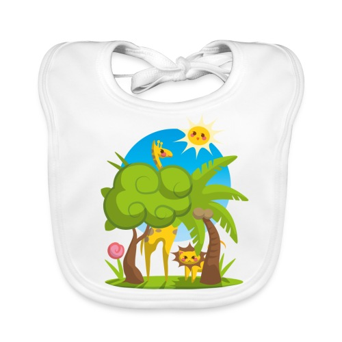 Lätzchen Jungle Animals - Baby Organic Bib