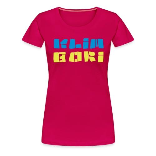 Klimbori a la Lehde - Frauen Premium T-Shirt