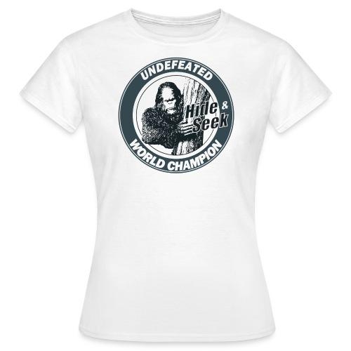Bigfoot - Women's T-Shirt
