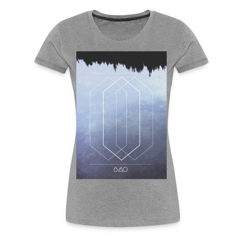 DUDEWEAR MIRROR 63 ♀ - Frauen Premium T-Shirt