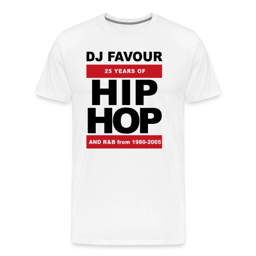 25 Years of Hip Hop Favour Edition - Männer Premium T-Shirt