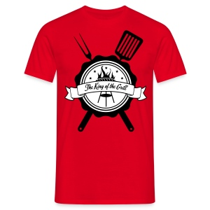 The king of the grill - T-shirt Homme