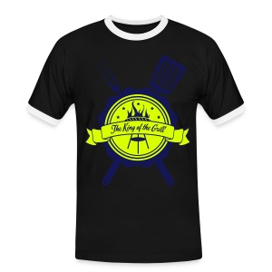 The king of the grill - T-shirt contrasté Homme