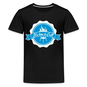 The king of the grill - T-shirt Premium Ado